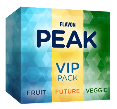 Flavon Peak VIP pack (2X Fruit, 2X Fruit Refill & 2X Veggie, 2X Veggie Refill)