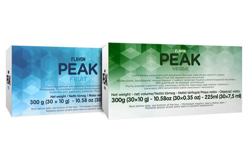 Flavon PEAK Fruit & Veggie Refill (60 sachets)